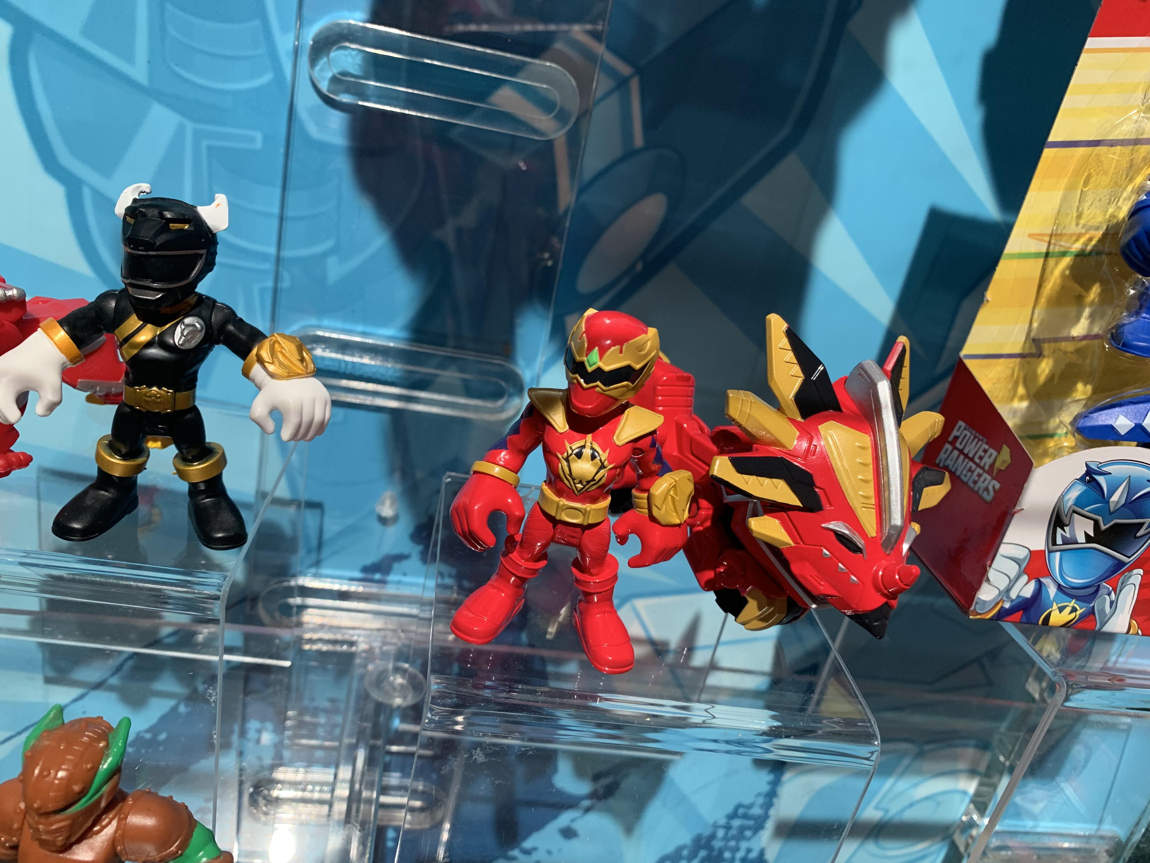 Playskool Heroes Power Rangers Red Ranger and Raptor Cycle