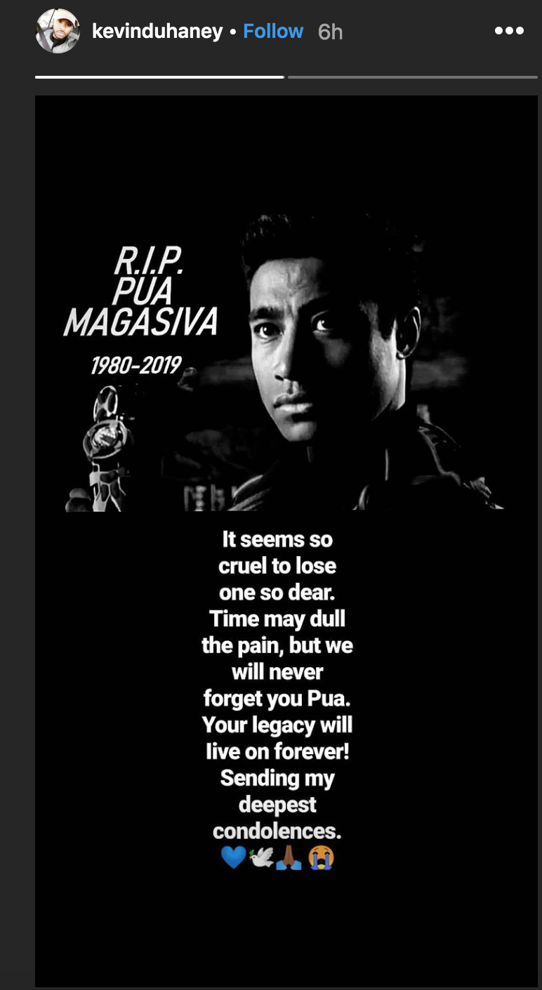 Pua Magasiva Has Died - PWRRNGR