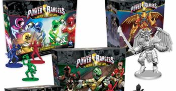 Power Rangers Heroes of the Grid Phase 2 Kickstarter Launched – Already Funded