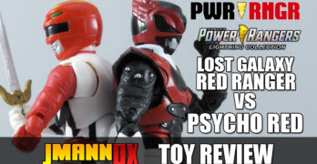 Lightning Collection Lost Galaxy Red vs. Psycho Red Toy Review!