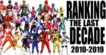 Ranking the Last Decade of Power Rangers Shows