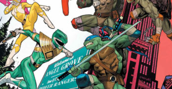 Mighty Morphin Power Rangers / Teenage Mutant Ninja Turtles Issue 2