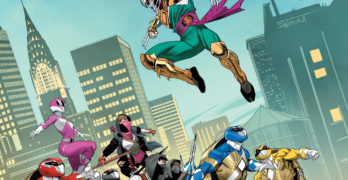 Toy Fair 2020 – Ninja Turtles become Power Rangers in MMPR/TMNT Issue 4