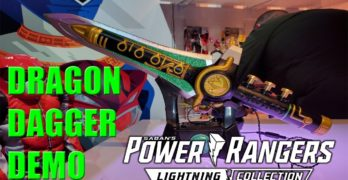 Toy Fair 2020 – Power Rangers Lightning Collection Dragon Dagger Demonstration