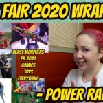 Toy Fair 2020 – Full Wrap-Up For Power Rangers (Video)